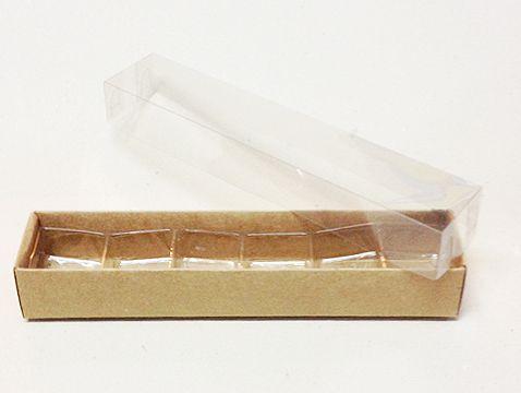 Caixa Nº 4 Kraft com Berço 10 un. Assk Rizzo Confeitaria