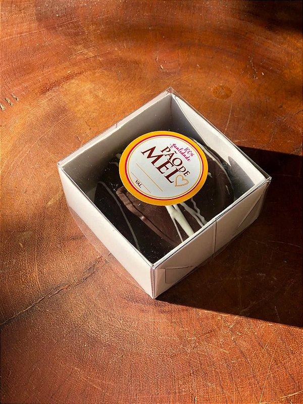 Caixa Nº 9 Branca com Tampa Transparente 10 un. Assk Rizzo Confeitaria