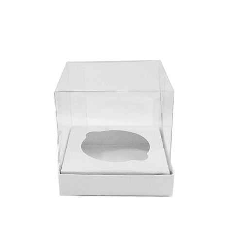 Caixa Mini Bolo P Branca 10 un. Assk Rizzo Confeitaria