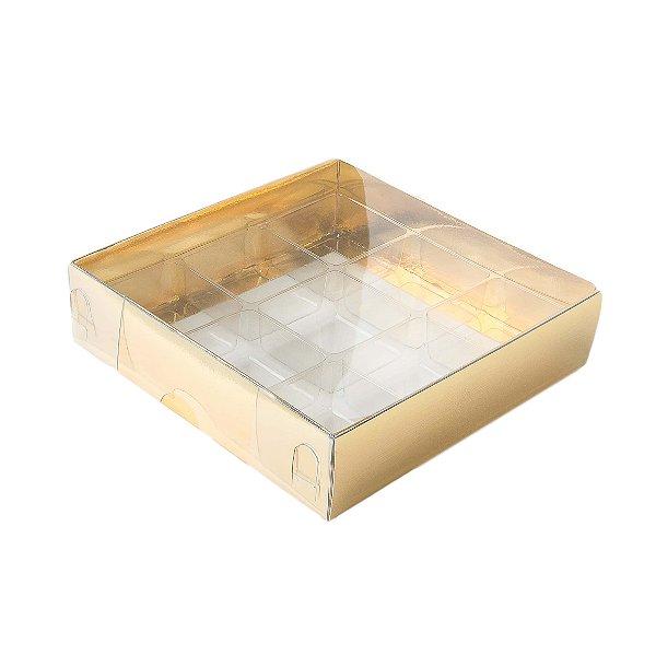 e491bffe4 Caixa Nº 6 Dourada com Berço 10 un. Assk Rizzo Confeitaria - Loja de ...