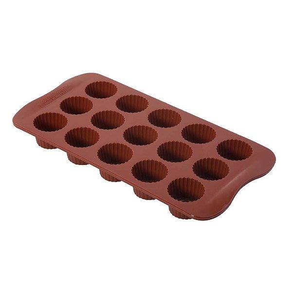 Forma de silicone Chocolate Alpino Le chef Rizzo Confeitaria