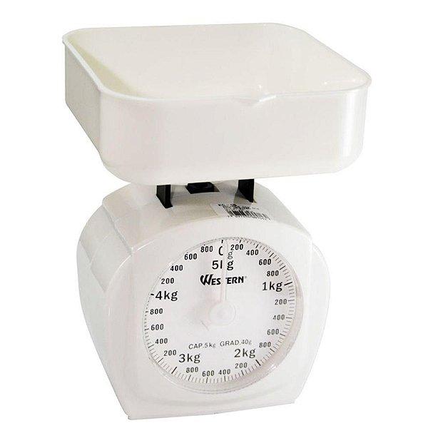Balança para Cozinha até 5kg Western Rizzo Confeitaria