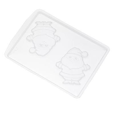 Forma de Acetato Papai Noel M Ref. 612 Crystal Rizzo Confeitaria
