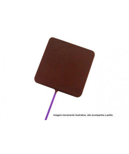Forma de Acetato Pirulito Quadrado Grande Cód. 9464 BWB Rizzo Confeitaria