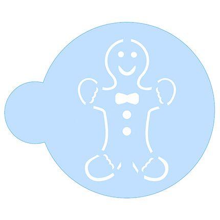 Stencil Biscoito de Natal SCCN012 Litoarte Rizzo Confeitaria