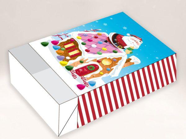 Caixa Divertida Casa de Doces 6 doces com 10 un. Erika Melkot Rizzo Confeitaria
