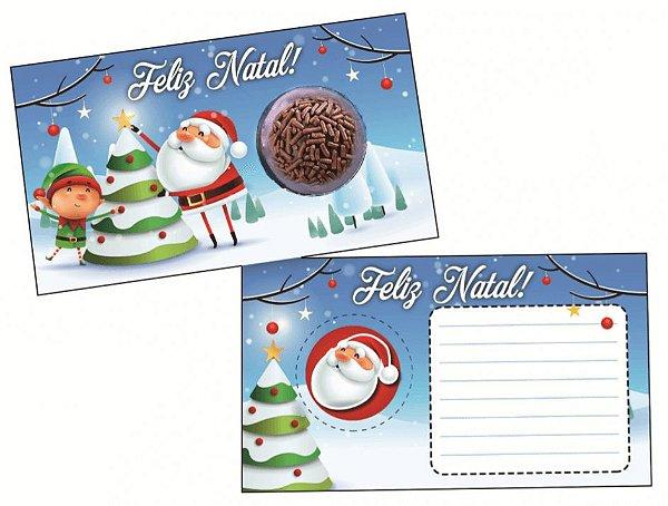 Cartão Blister Árvore de Natal com 10 un. Erika Melkot Rizzo Confeitaria