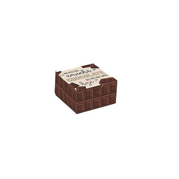 Caixa Divertida Chocolate 4 doces com 10 un. Cromus Rizzo Confeitaria