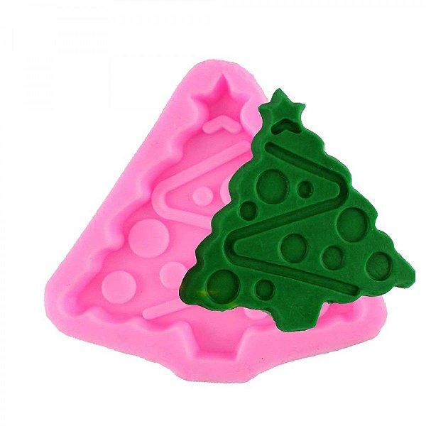 Molde de Silicone Árvore de Natal N4 Molds Planet Rizzo Confeitaria