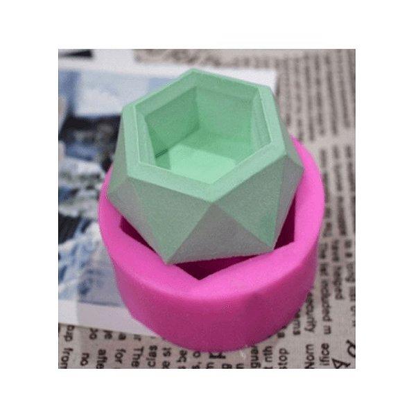Molde de Silicone Diamante S371 Molds Planet Rizzo Confeitaria