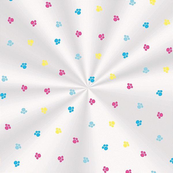 Saco Transparente 15 X 22 Fantasia Colorida com 100 un. Cromus Rizzo Confeitaria