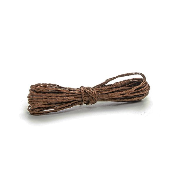 Fio Decorativo Torcido 20 m Marrom Cromus Rizzo Confeitaria
