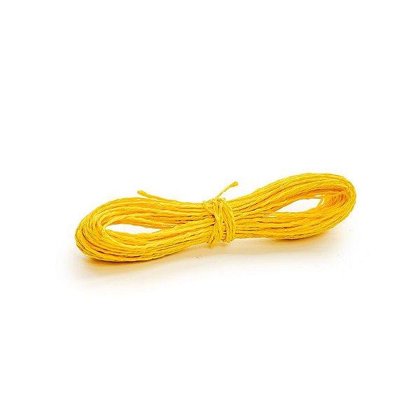 Fio Decorativo Torcido 20 m Amarelo Cromus Rizzo Confeitaria