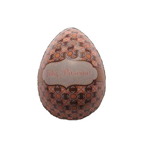 Blister Decorado com Transfer para Chocolate Ovo Feliz Páscoa 500G BLP0054 Stalden Rizzo Confeitaria