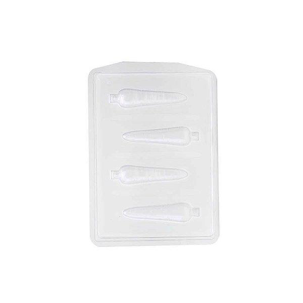 Forma Especial Cenoura de Páscoa FP95 Crystal Rizzo Confeitaria