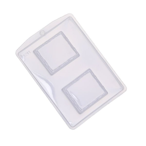 Forma de Acetato Caixa Moldura II  Mod.1211  Crystal Rizzo Confeitaria