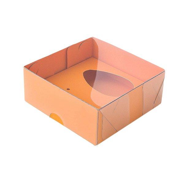 Kit Confeiteiro - Caixa Ovo de Colher 100g Laranja com 5 un. Assk Rizzo Confeitaria