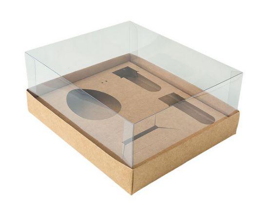 Kit Confeiteiro - Caixa Ovo de Colher 100g Kraft com 5 un. Assk Rizzo Confeitaria