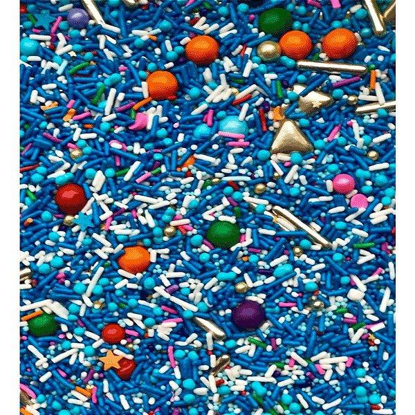 Fairy Sprinkles Blue Rocks Especial 150 gr Rizzo Confeitaria