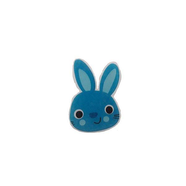 Papel Arroz Comestível Coelho Azul P Mod.10 Amo Confeitaria Rizzo Confeitaria