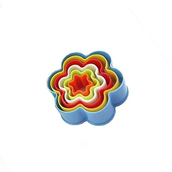 Kit Forminhas de Flores 6 pç Le Chef  Rizzo Confeitaria