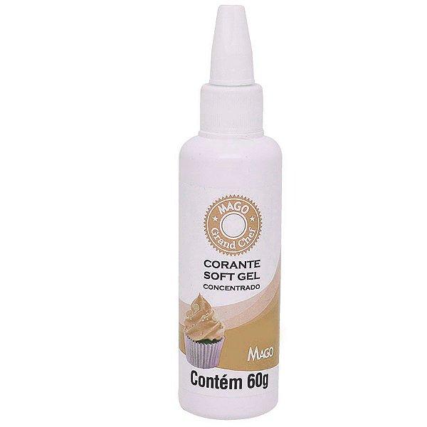 Corante SoftGel Marfim 60g Mago Rizzo Confeitaria