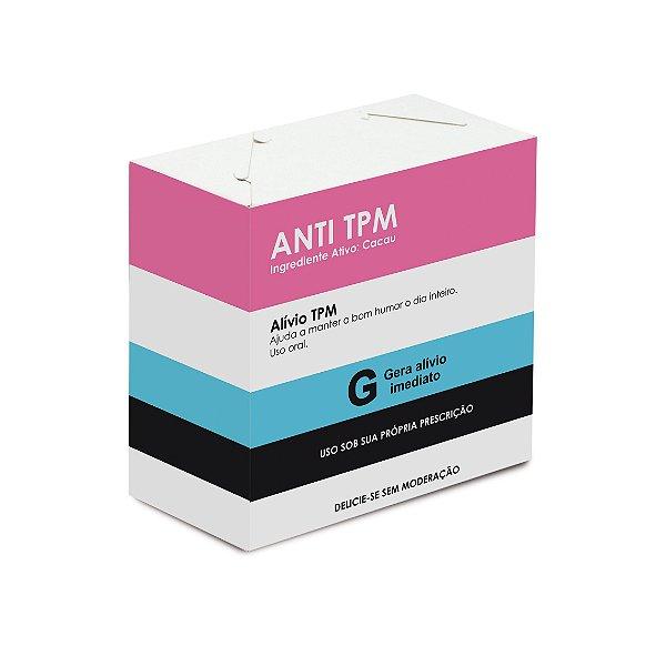Caixa Divertida Anti TPM 6 doces com 10 un. Cromus Rizzo Confeitaria