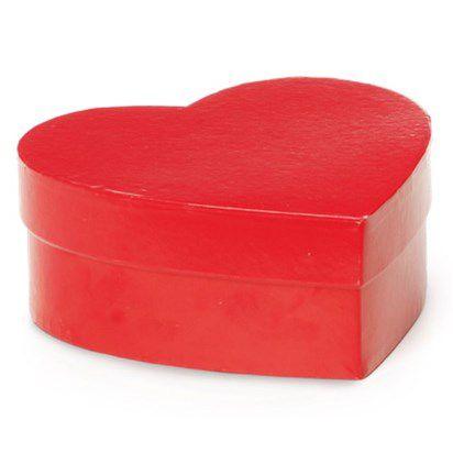 Caixa Coração Vermelho M Cromus Rizzo Confeitaria