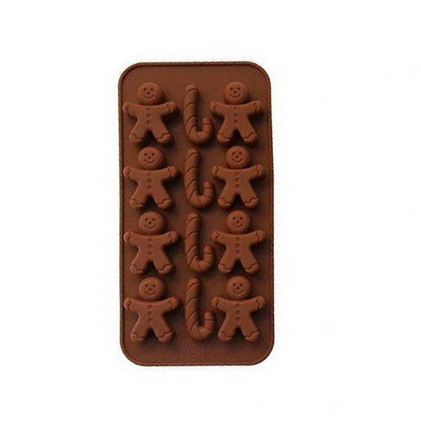 Forma de Silicone Gingerbread Rizzo Confeitaria