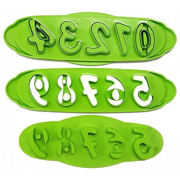 Cortador - Marcador Números Prime Chef Rizzo Confeitaria