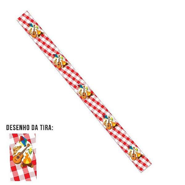 Tiras Festa Junina Fogueira para Embalagens Rizzo Confeitaria