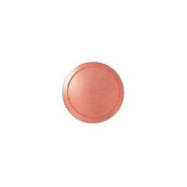 Base para Bolo Cake Board Redondo Ouro Rose 24 cm Ultrafest Rizzo Confeitaria