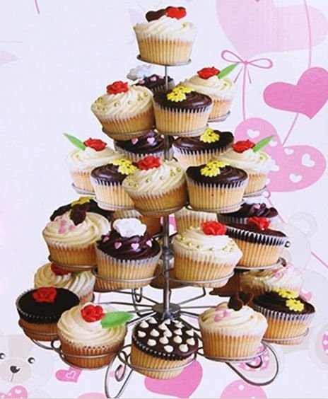 Suporte para Cupcake 30cm x 28,5cm Rizzo Confeitaria