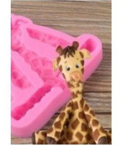 Molde de Silicone Girafa S463 Molds Planet Rizzo Confeitaria