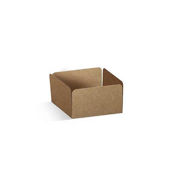 Forminha Reta para Pão de Mel Kraft com 100 un. Cromus Rizzo Confeitaria