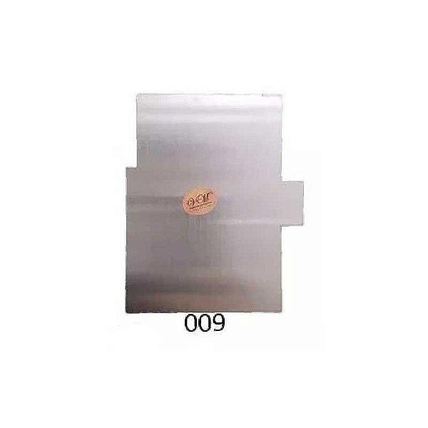 Espátula Decorativa para Bolo em Inox Mod. 009 VM Rizzo Confeitaria