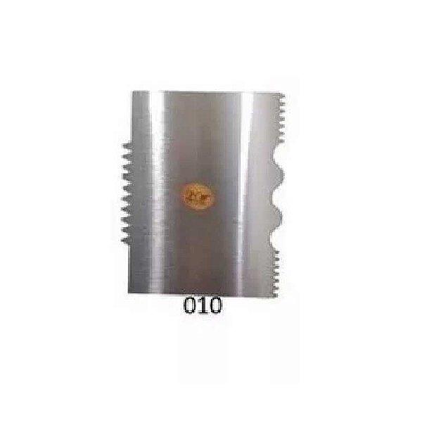 Espátula Decorativa para Bolo em Inox Mod. 010 VM Rizzo Confeitaria