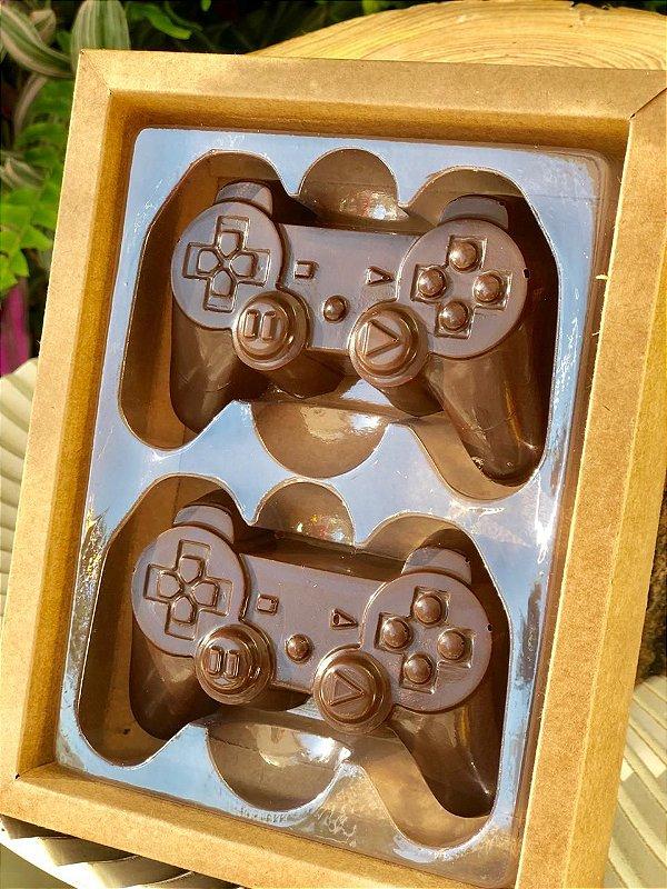 Caixa Controle Video Game 2 cav. Kraft com 5 un. Crystal Rizzo Confeitaria