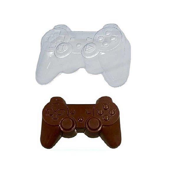 Forma de Acetato Joystick - Controle Vídeo Game 1547 Crystal Rizzo Confeitaria