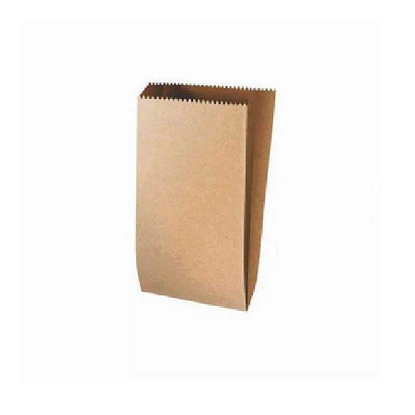 Saquinho de Papel Kraft GG - 33 X 13 X 3,5 com 25 un. Rizzo Confeitaria