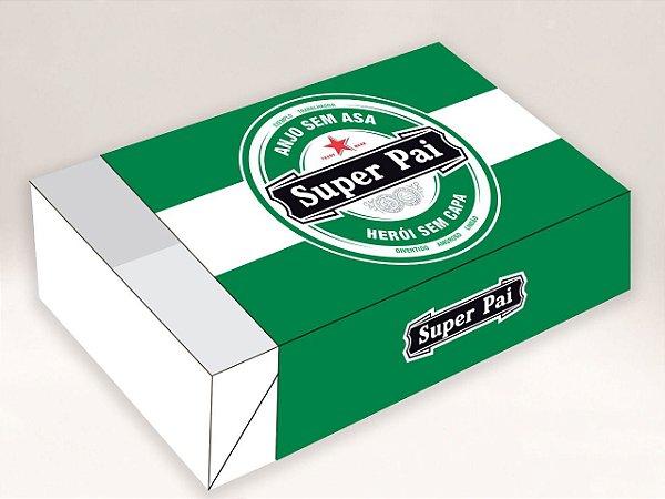 Caixa Divertida Pai Rótulo Super Pai Ref. 591 - 6 doces com 10 un. Erika Melkot Rizzo Confeitaria