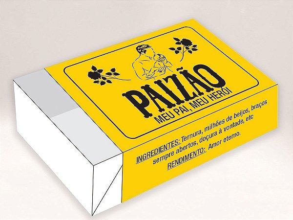 Caixa Divertida Caixa Paizão Ref. 567 - 6 doces com 10 un. Erika Melkot Rizzo Confeitaria