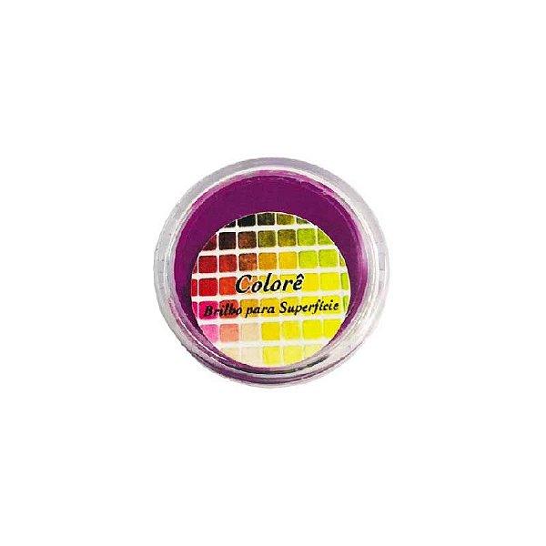 Pó para decoração, brilho para Superfície Colorê Maravilha Fluor 2g LullyCandy Rizzo Confeitaria