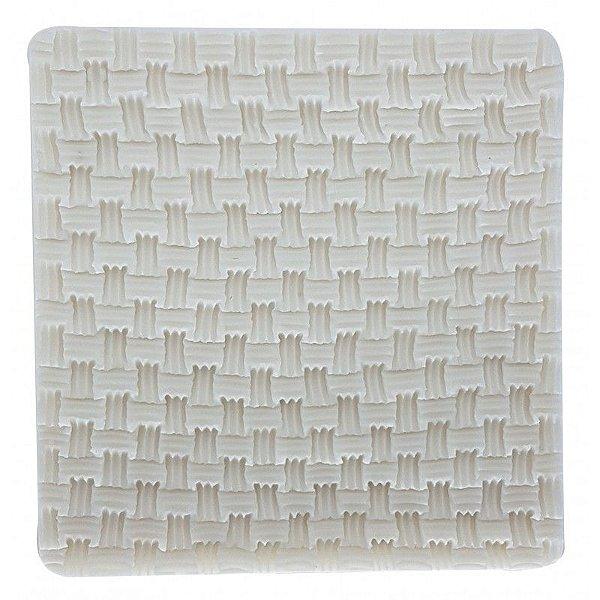 Molde de Silicone Textura GMEZN593 Prime Chef Rizzo Confeitaria