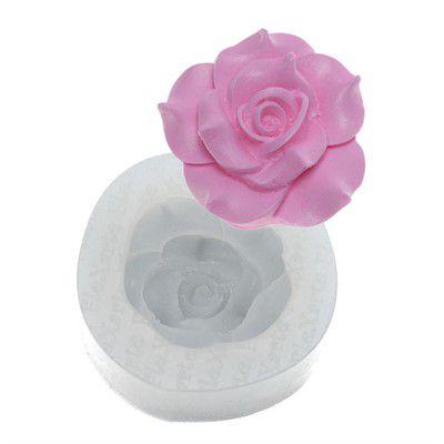 Molde de Silicone Rosa Daenerys Ref. 37 Flexarte Rizzo Confeitaria