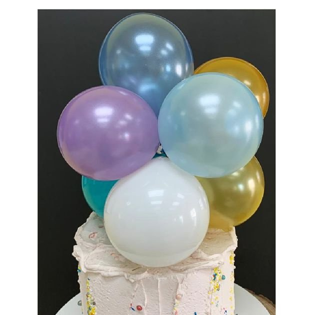 Topo de Bolo Mini Balões - Monte o Seu