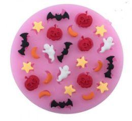 Molde de silicone Halloween S543 Molds Planet Rizzo Confeitaria