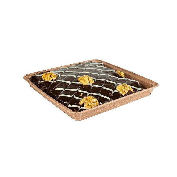 Forma Quadrada para Brownie G sem tampa 5 un. Ecopack Rizzo Confeitaria