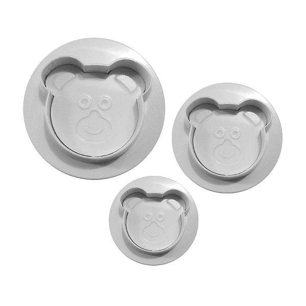 Ejetor de Ursinho 3 peças Rizzo Confeitaria