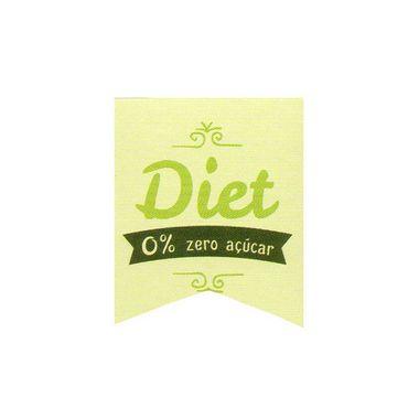 Etiqueta Adesiva Diet Zero Açúcar com 20 unidades Ref. 155 Papieri Rizzo Confeitaria